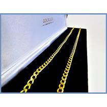 Cadena Oro Amarillo Solido 14k Mod. Barbada 4mm 8grs Acc