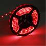 Cinta 300 Led Flexible 5 Metros Decoración Auto Casa Rojo