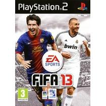 Patch Fifa Soccer 13 Jogo P/ Ps2 Playstation2 Play2 Futebol