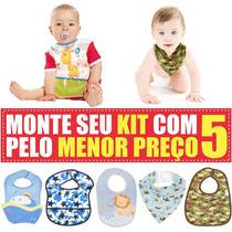 Kit 5 Babadores Para Bebê Com Super Preço