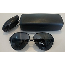 Oculos Estilo Aviador Lentes 100% Polarizadas Original Promo