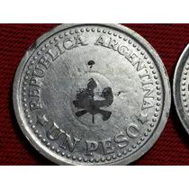 Moneda Argentina 1 Peso 1960 Falla Ref C84