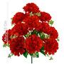 Bq C/12 Mum Cetim Vermelho 43 Cm (32080004)-flor Artificial