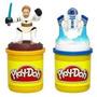 Play-doh De Star Wars The Clone Wars Estampar Con Obi-wan Y