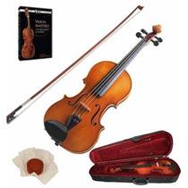 Violin Arco Estuche Stradella Mv141344 4/4 Macizo