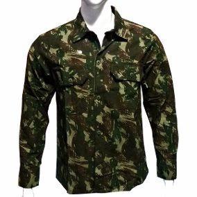 Camisa Camuflada Masculina Manga Longa - R  80 996970087f9