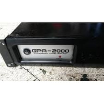 Power Amplificador De Audio Gemini Modelo Gpa-2000