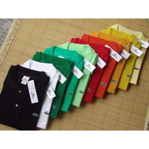 Kit C/02 Camisa Polo Masculina Lacoste, Tommy A Pronta Entre