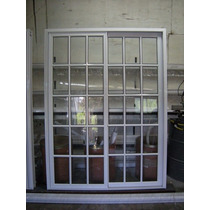 Puerta Ventana Balcon 150 X 200 Repartido Vidrio 4mm