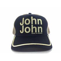 Boné Logo Marca John John Duas Cores Varios Modelos Original
