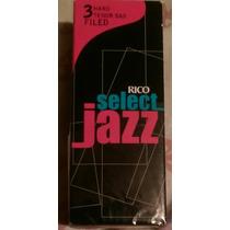 Cañas Rico Jazz Select #3 Hard Y Vandoren Java 3 Sax Tenor