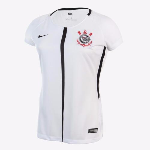 Camiseta Feminina Do Corinthians (personalizada) - R  75 6a7b073f7bbd2