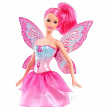 Boneca Barbie Butterfly Princesa Fairy Asas Que Batem Mattel