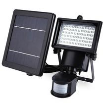Lampara Solar Con Luces Led Y Deteccion De Movimento