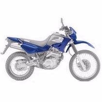 Kit De Carenagem Yam Xt 600 - Preto - S/ Ad