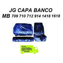 Capa Chinil Banco Caminhão Mb 709 710 914 1418 1618 Pelucia