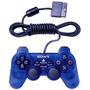Ps2 Dualshock 2 Controlador - Ocean Blue