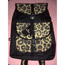Bolso Morral Backpack Animal Print Nuevo Original Xicxoc M3