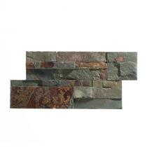 Panel De Piedra Delfos Oxido 18x35 - Misiones -