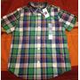 Camisa Baby Gap Niño Cuadros