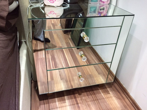 Bur de espejo moderno 4 en mercado libre for Buros de cama modernos