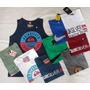 Kit C/ 10 Camisa Regata Masculina Diversas Marcas
