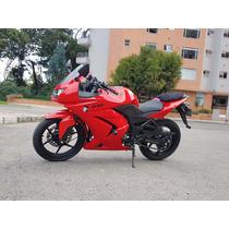 Kawasaki Ninja 250 Modelo 2012 Roja