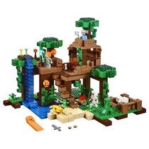 Lego Minecraft La Casa Del Arbol En La Jungla Mod 21125