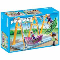 Playmobil Parque De Diversões Barco Balanço 5553