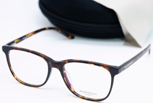 Oculos De Grau Feminino Ana Hickmann Oncinha Acetato Quadrad - R  90,90 em  Mercado Livre 51fedb8a7f