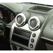 Jgo Cromado P/ Saida De Ar Ecosport Ou Fiesta 07/10 + Aromat
