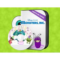 Ki-092 Kit Imprimible Editable Monster Inc. Cumpleaños