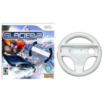 Jogo Glacier 3 The Meltdown Lacrado Nintendo Wii Com Volante