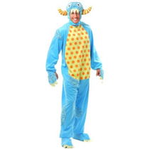 Los Hombres Del Adulto Charades Monster Mini Set Costume, B