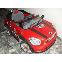 Carrito Electrico De Bateria Para Niño Modelo Mini Cooper