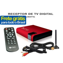 Receptor Conversor Tv Digital Automotivo Veicular Dvd Carro