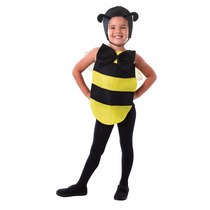 Disfraz De Abejorro - Negro Y Amarillo Para Niños