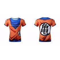 Remeras Dragon Ball Z Goku