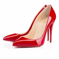 Sapato Christian Louboutin 10 Cm Em 3 Cores Original N Caixa