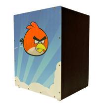 Cajon Infantil Acústico - Tiger - Angry Birds - Lançamento!