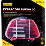 Extractor Tornillo 5pcs - Ferretek