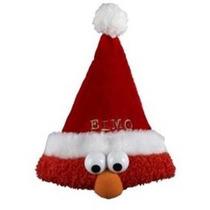 Kurt Adler Sesame Street 13-inch Plush Elmo Gorro De Papá No