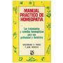 Libro, Manual Práctico De Homeopatía B. Panos/ J. Heimilich