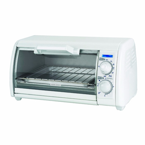 Horno tostador black decker tro420 y azador 4 reb for Horno electrico black decker