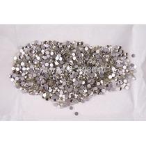 100 Cristales Imitación Swarovki Para Decoracion De Uñas 3mm