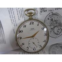Relógio Bolso Tissot Antigo Raro Coleção Grande 57,83 Mm
