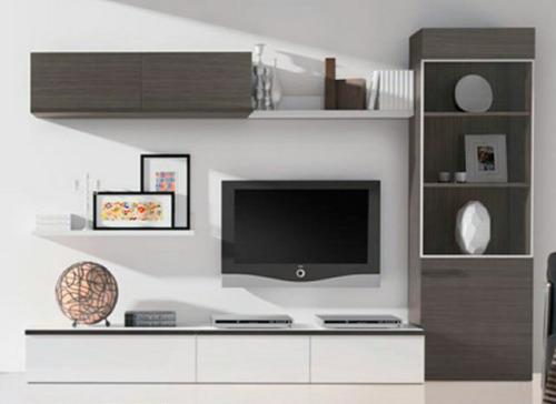 Muebles Para Tv Y Centros De Entretenimiento  U$S 100,00 en Mercado