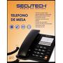 Telefono De Mesa Alambrico Secutech 2200tfn