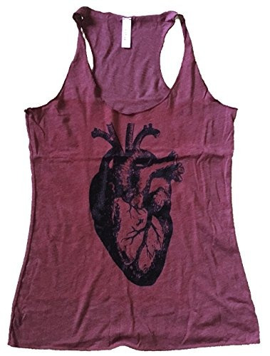 Camiseta Sin Mangas Anatómica Del Corazón Amistoso De Las ...