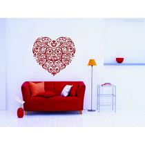 Adesivo Decorativo Parede Casal Amor Coração Romântico Cama